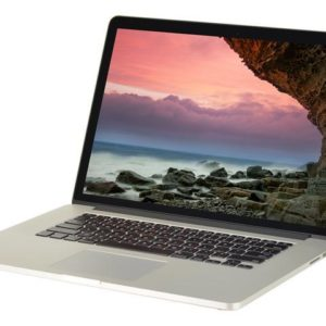 MacBook Pro 15 Inch front view