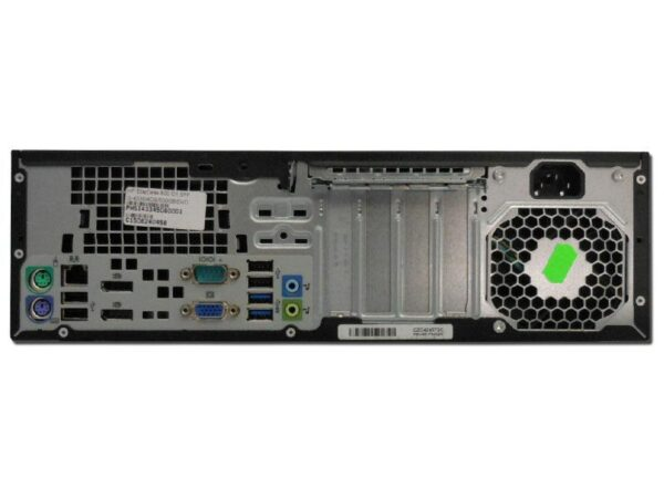 Rear view of HP EliteDesk 800G1