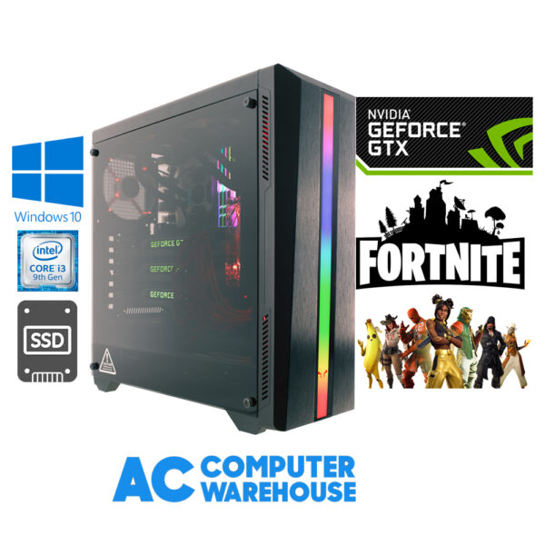 Fortnite Gaming PC Entry Level